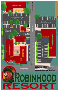Robinhood Resort Big Bear Map